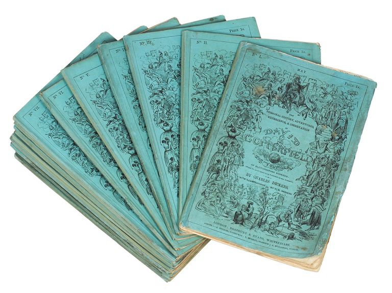 The Personal History, Adventures, Experience, & Observation of David Copperfield the Younger. Of Blunderstone Rookery, (Which He never meant to be Published on any Account)...With Illustrations By H. K. Browne. Charles Dickens.