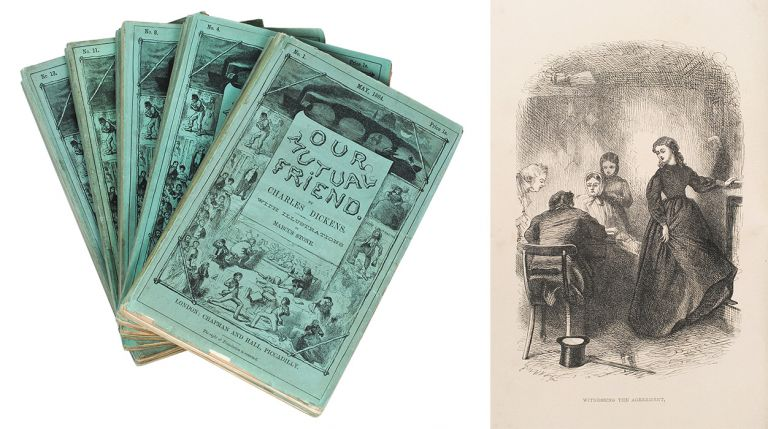 Our Mutual Friend...With Illustrations By Marcus Stone. Charles Dickens.