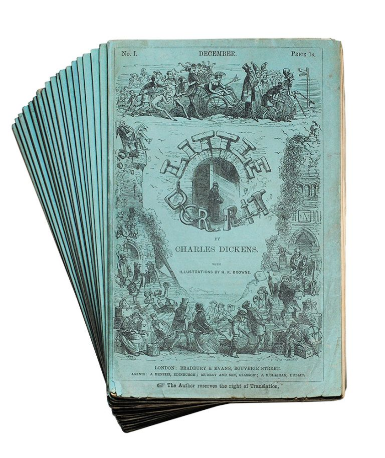 Little Dorrit...With Illustrations By H. K. Browne. Charles Dickens.