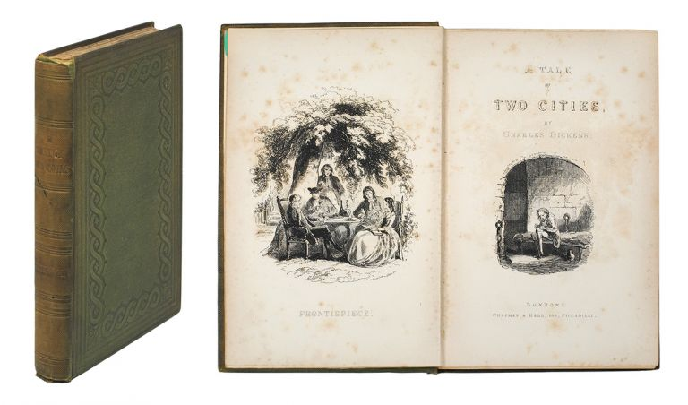 A Tale of Two Cities...With Illustrations By H. K. Browne. Charles Dickens.