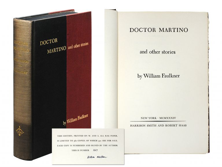 Doctor Martino and other stories. William Faulkner.