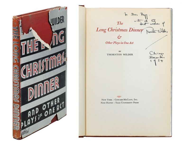 The Long Christmas Dinner & Other Plays in One Act. Thornton Wilder.