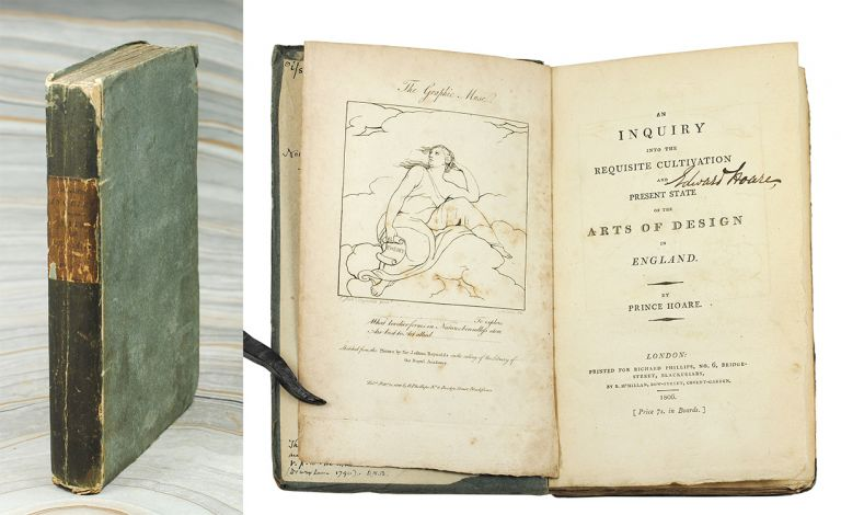 An Inquiry into the Requisite Cultivation and Present State of the Arts of Design in England. Prince. Blake Hoare, William.