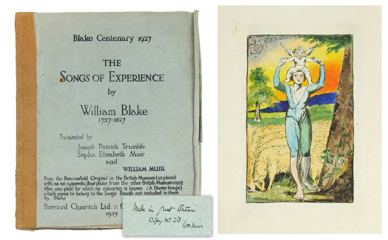 The Songs of Experience. William Blake.
