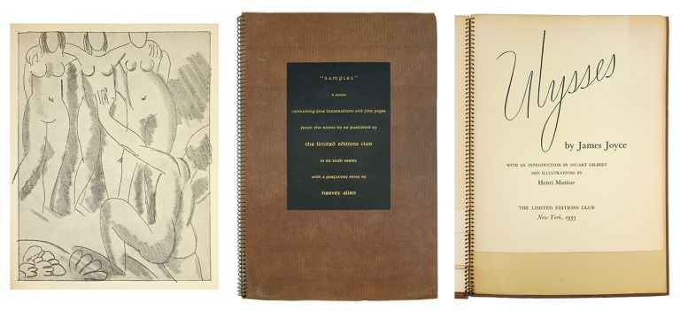 Samples: A Book Containing Fine Illustration and Fine Pages from the Books to be Published by the Limited Editions Club in its Sixth Series. With a Prefatory Essay. Hervey Allen.
