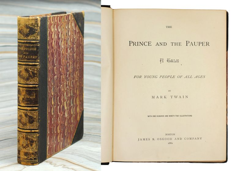 The Prince and the Pauper. Mark Twain, Samuel L. Clemens.