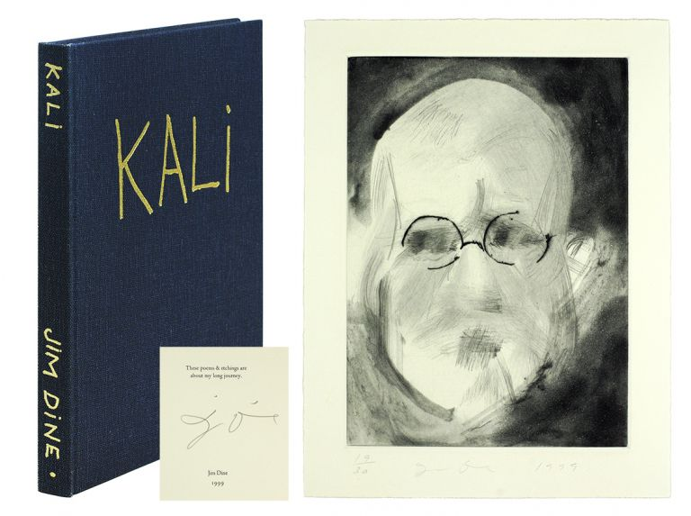 Kali. Poems & Etchings. Jim Dine.