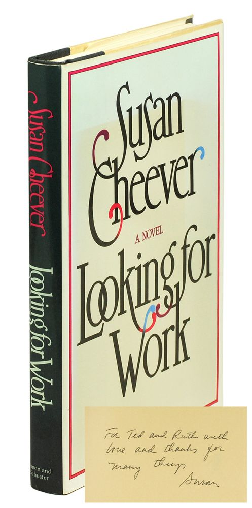 Looking for Work. Susan Cheever.