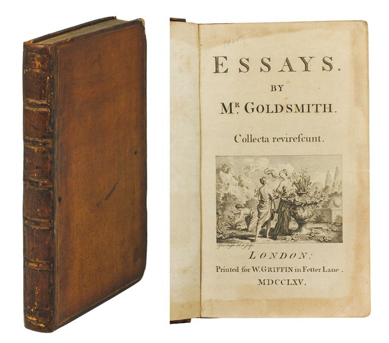 Essays. Oliver Goldsmith.