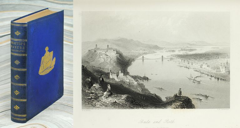 The Danube. its History, Scenery, and Topography... Splendidly Illustrated, From Sketches taken on the Spot, by Arbresch, and Drawn by W. H. Bartlett, Esq. W. Henry Bartlett, ed William Beattie.