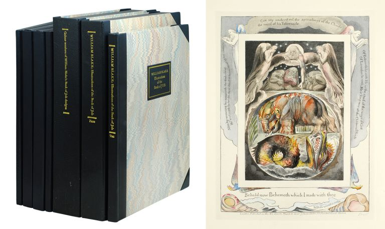 Illustrations of the Book of Job. Trianon Press, William Blake.