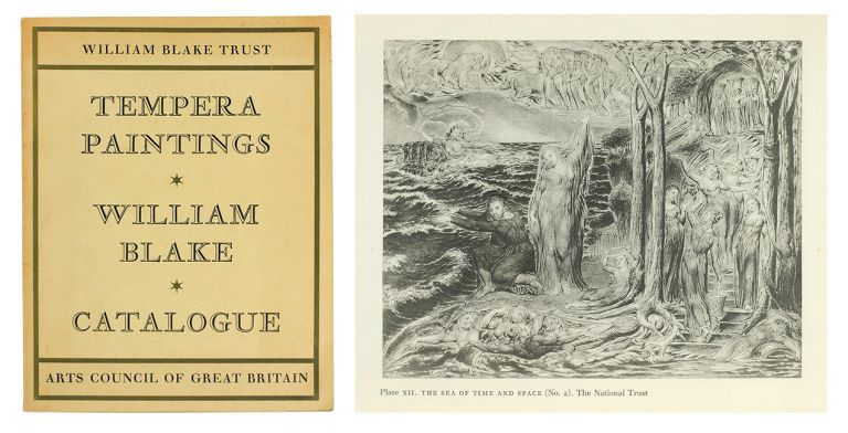 The Tempera Paintings of William Blake. Arts Council of Great Britain.