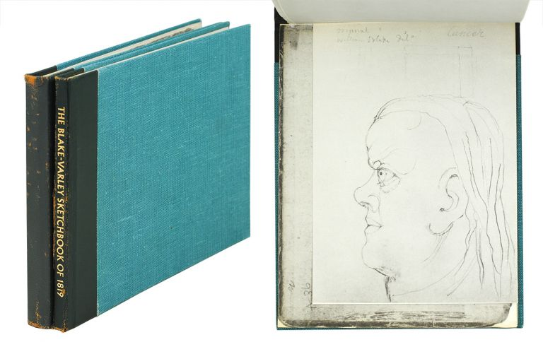 The Blake-Varley Sketchbook of 1819 in the Collection of M.D.E. Clayton-Stamm. Introduction and Notes by Martin Butlin. William Blake.