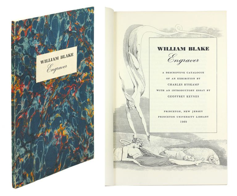 William Blake Engraver: A Descriptive Catalogue… by Charles Ryskamp…. Exhibition Catalogue.