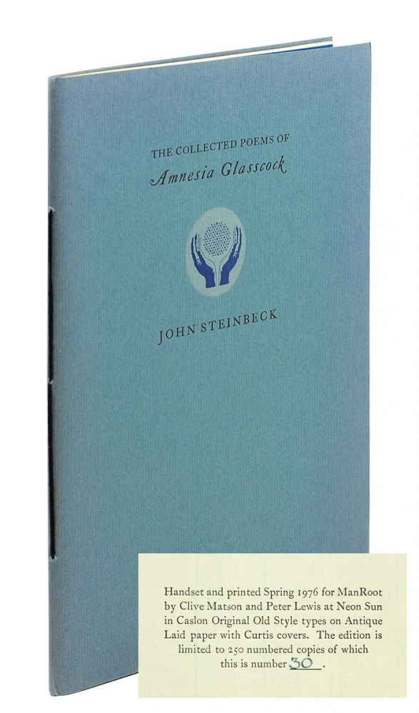 The Collected Poems of Amnesia Glasscock. John Steinbeck, pseud.