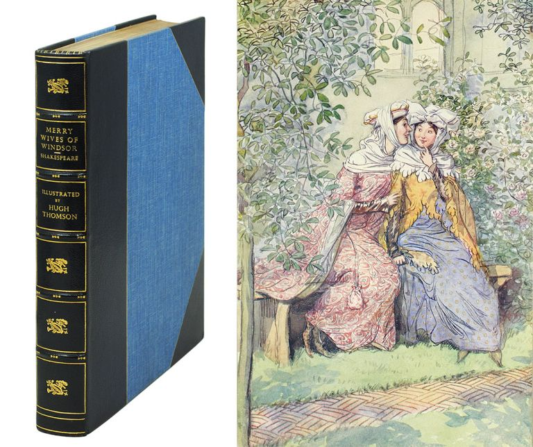 The Merry Wives of Windsor. William. Thomson Shakespeare, Hugh.
