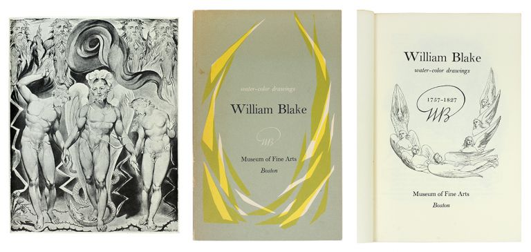 William Blake Water-Color Drawings. Helen D. Willard, Peter A., Wick, Author.