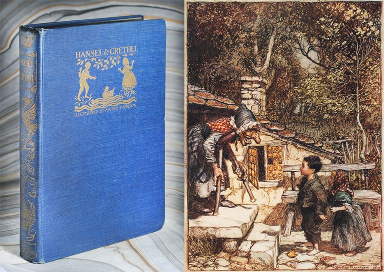 Hansel & Grethel [sic], & other Tales by the Brothers Grimm. Illustrated by Arthur Rackham. Jakob, Wilhelm.