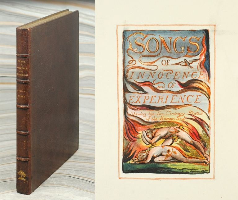 Songs of Innocence (and) Songs of Experience. William Blake.