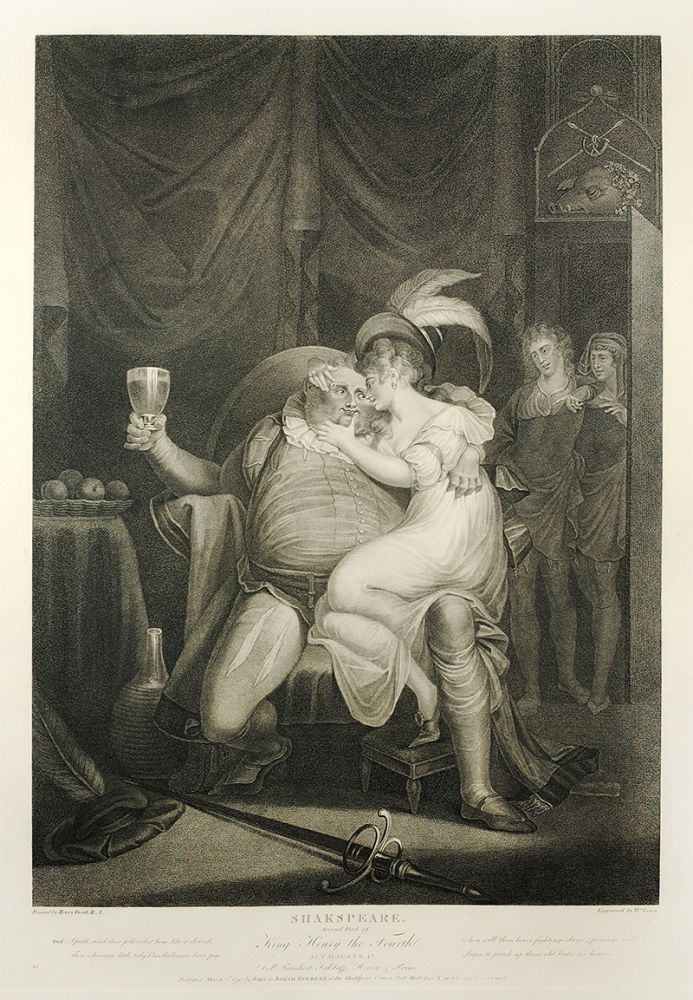 Shakspeare [sic] Second Part of King Henry the Fourth.Painted by Henry Fuseli. Engraved by W. Leney. Henry Fuseli.