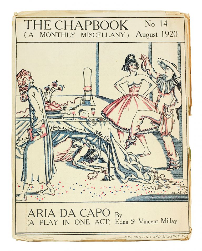 Aria da Capo. (A Play in One Act). Edna St. Vincent Millay.