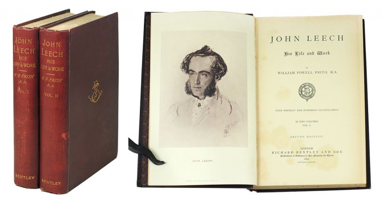 John Leech His Life and Work. In Two Volumes. William Powell Frith.