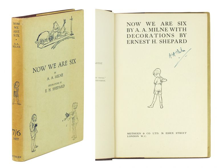 Now We Are Six. A. A. Milne, E. H. Shepard.