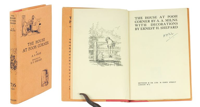 The House at Pooh Corner. A. A. Milne, E. H. Shepard.