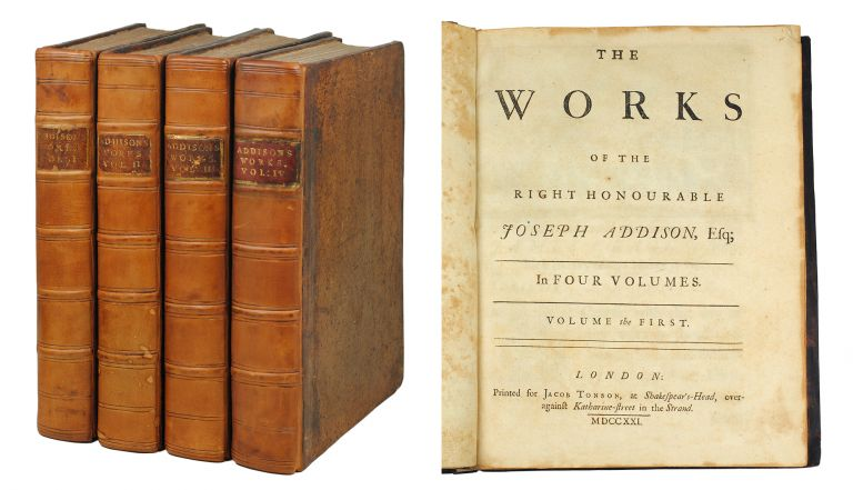 Works. Joseph Addison.