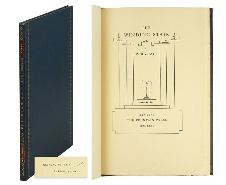 The Winding Stair. William Butler Yeats.