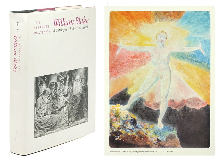 The Separate Plates of William Blake. A Catalogue. Robert N. Essick.