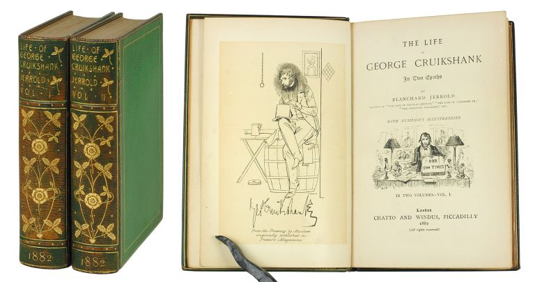 The Life of George Cruikshank in Two Epochs. Blanchard Jerrold.