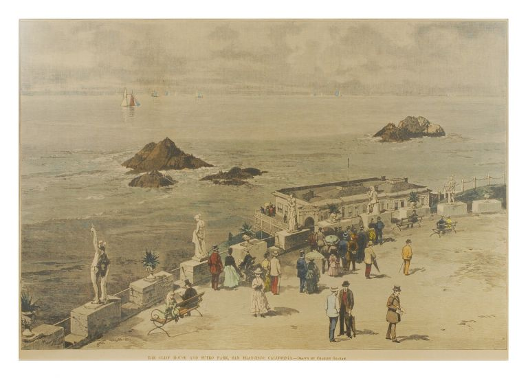 The Cliff House and Sutro Park, San Francisco, California. Charles Graham.