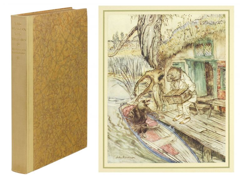 The Wind in the Willows. Kenneth Grahame, Arthur Rackham.