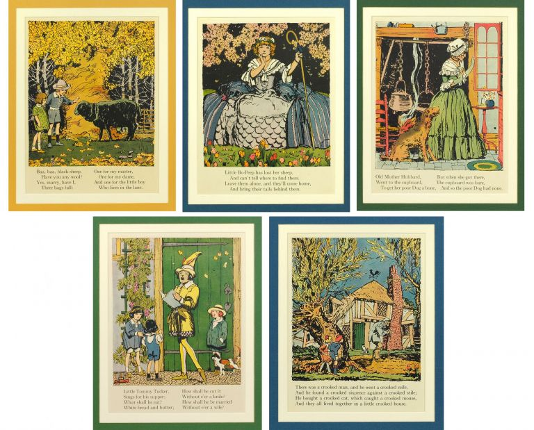 Five illustrated nursery rhymes from Mother Goose. C. B. Falls.