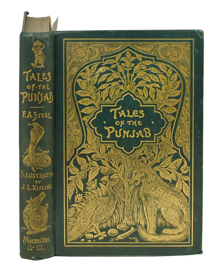 Tales of the Punjab Told by the People. With Illustrations by J. Lockwood Kipling and Notes by R. C. Temple. Flora Annie Steele.