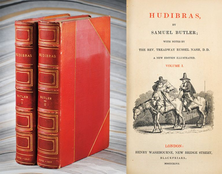 Hudibras. With Notes by the Rev. Treadway Russel Nash. Samuel Butler.