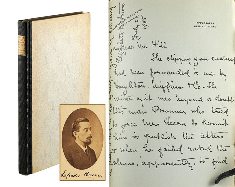 Hearn and his Biographers: The Record of a Literary Controversy. Oscar Lewis.