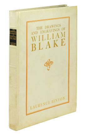 The Drawings and Engravings of William Blake. Edited by Geoffrey Holme. Laurence. Blake Binyon,...