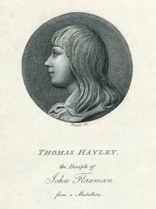 "Third plate ""Thomas Hayley"" in: An Essay on Sculpture: In a Series of Epistles to John..."