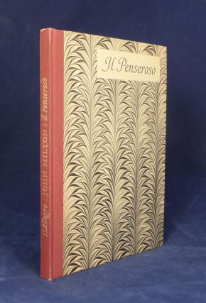 L'Allegro… Together with A Note upon the Poems by W. P. Trent. Il Penseroso…. Together with...