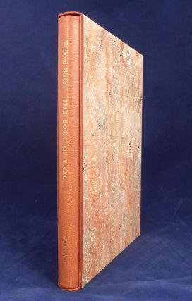 The Book of Thel. William Blake, Trianon Press