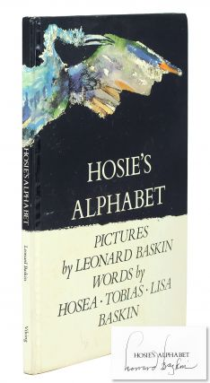 Hosie's Alphabet. Pictures by Leonard Baskin. Words by Hosea Tobias & Lisa Baskin. Leonard....