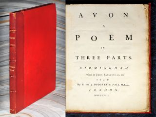 Avon: A Poem in Three Parts. John Huckell