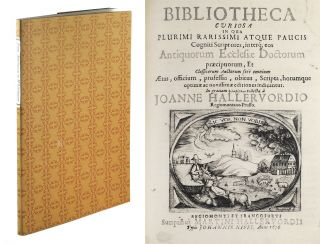 From Almeloveen to Whittington: Book & Manuscript Catalogues 1545-1995. Exhibition Catalogue