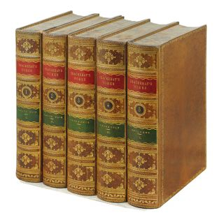 The Works of William Makepeace Thackeray in Twenty Two Volumes. William Makepeace Thackeray