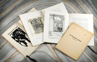 California Book Plates [with] 3 Issues of The California Book-plate Booklet. California Book...