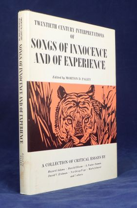 Twentieth Century Interpretations of Songs of Innocence and of Experience. A Collection of...