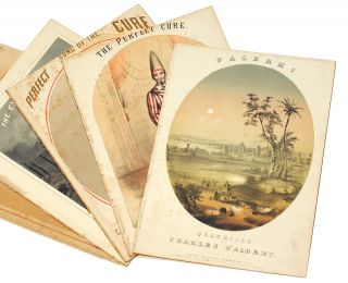 A collection of 19th century sheet music. Sheet music, Chromolithography