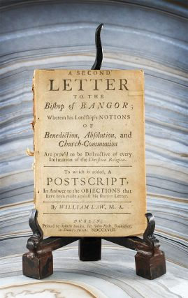 A Second Letter to the Bishop of Bangor; Wherein his Lordship's Notions of Benediction,...